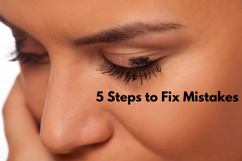 Makeup Foutjes Corrigeren